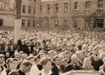 Koronacja Obrazu MBNP  1967 r. Toruń Bielany