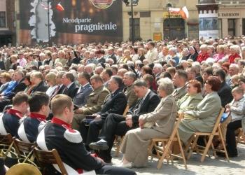 Uroczystość 3 Maja 2006